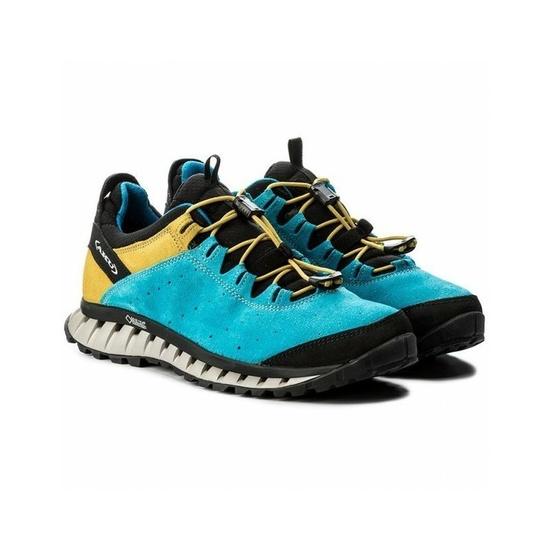 Topánky AKU CliMatic SUEDE GTX modrá