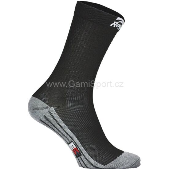 Ponožky s miernu kompresiou Rogelli DRYARN CARBON 007.121
