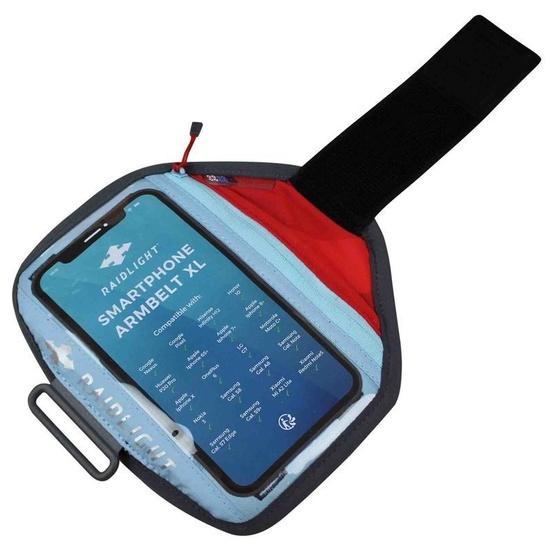 Púzdro na mobil Raidlight smartphone Armbelt XL Red Light