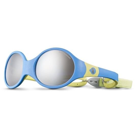 Slnečný okuliare Julbo LOOP L SP4 BABY blue cyan / yellow green