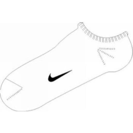 Ponožky Nike Ankle Femme Pink SX1430-152