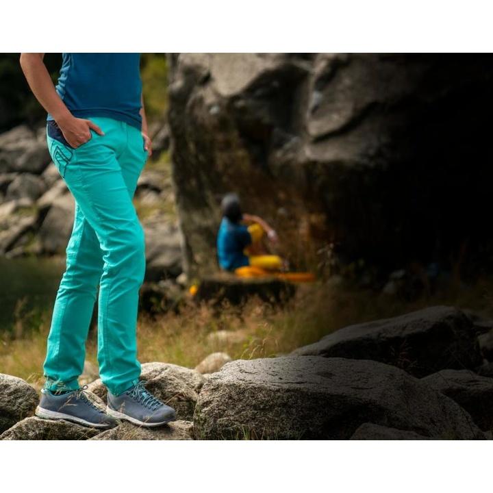 Nohavice Direct Alpine ZAMBANA LADY mentol / indigo