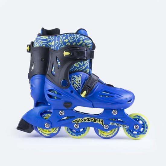 Kolieskové korčule Spokey BUDDY modré