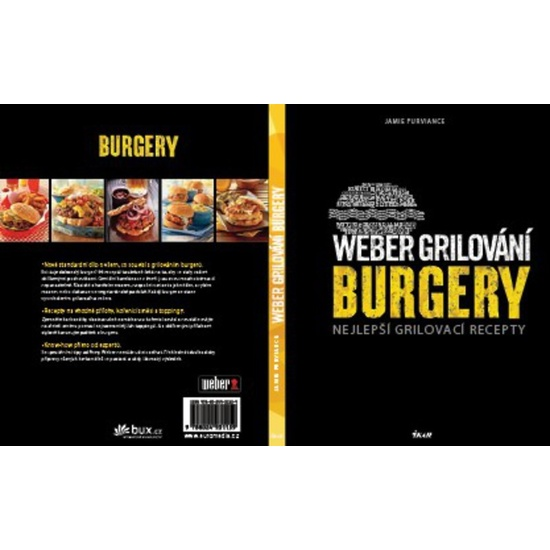 Weber grilovanie burgery CZ