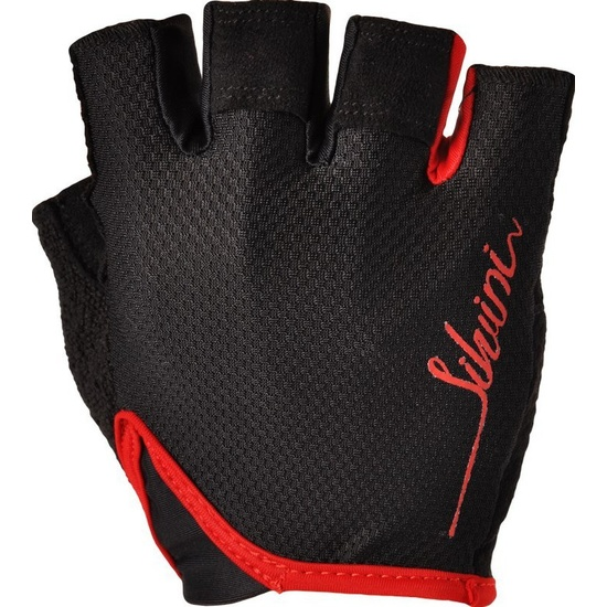 Dámske rukavice Silvini VARA WA1012 black-red