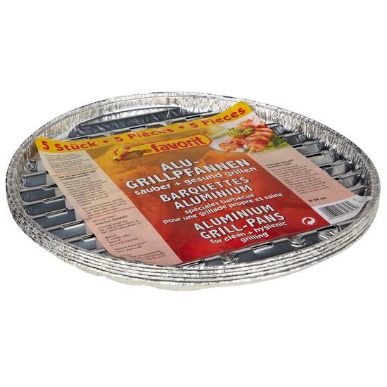 Grilovaci miska Favorit kruhová 34cm, 5 ks