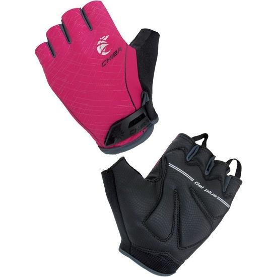 Cyklo rukavice Chiba LADY MATRIX, ružové 30917.23-1