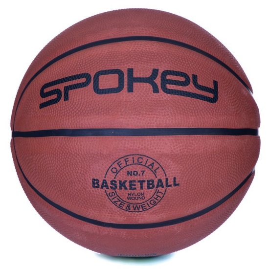 Basketbalový lopta Spokey BRAZIRO II hnedý veľkosť 6