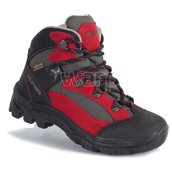 Topánky Duras Rocker Kid II Comfortex red/black
