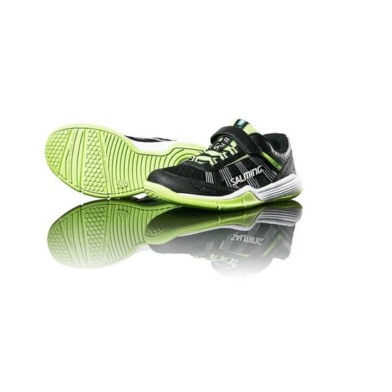 Topánky Salming Adder Kid Black / Green