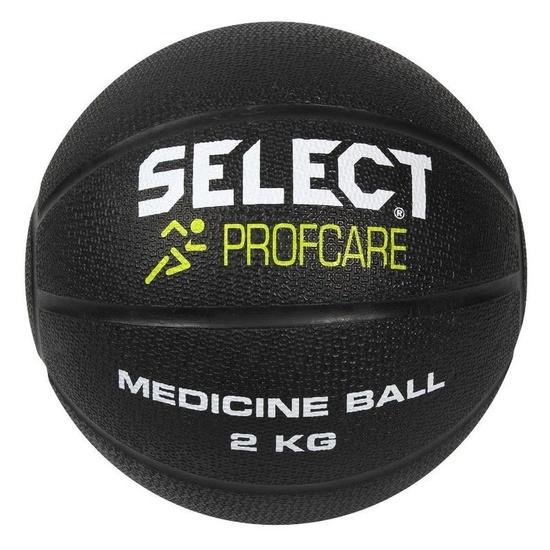 ťažký lopta Select Medicine ball 2 kg čierna
