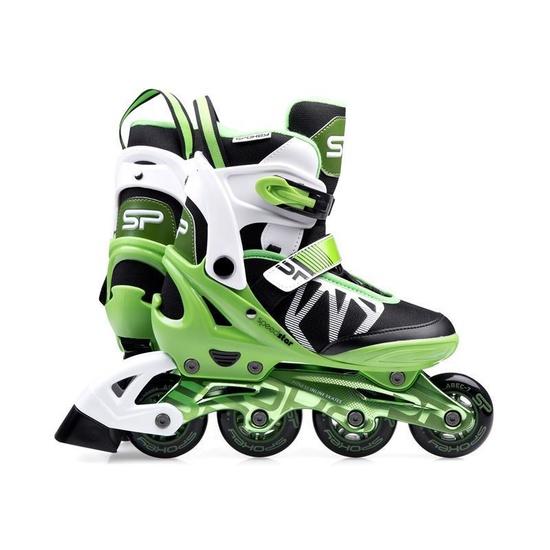Kolieskové korčule Spokey SPEEDSTAR zelené