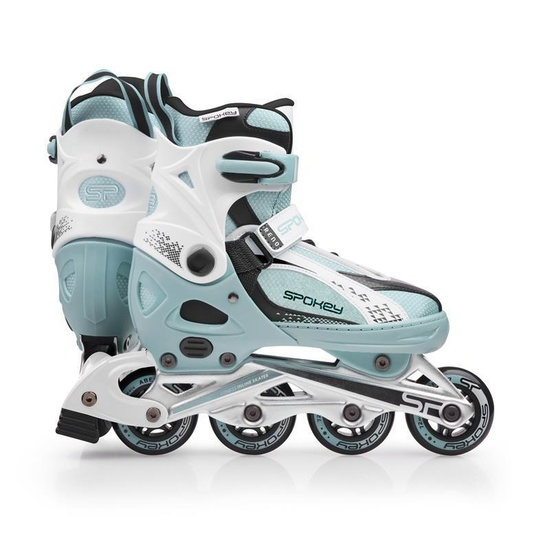 Kolieskové korčule Spokey RENO modro-biele
