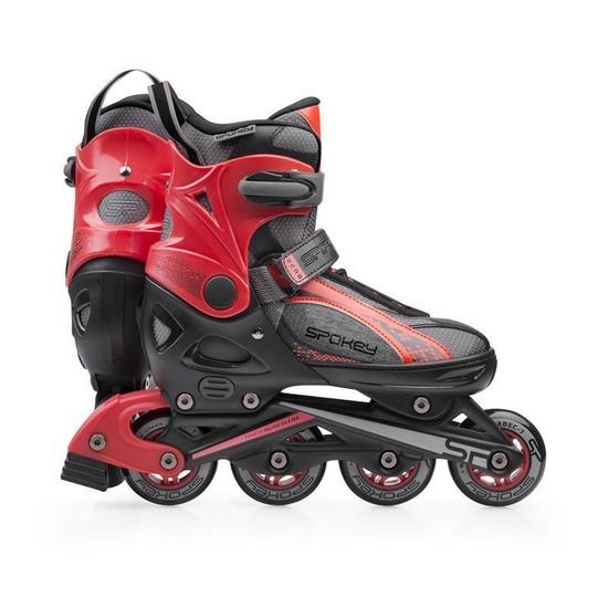 Kolieskové korčule Spokey RENO čierno-červené