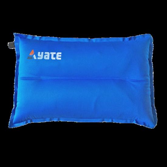 Samonafukovací vankúšik YATE modrý 43x26x9 cm