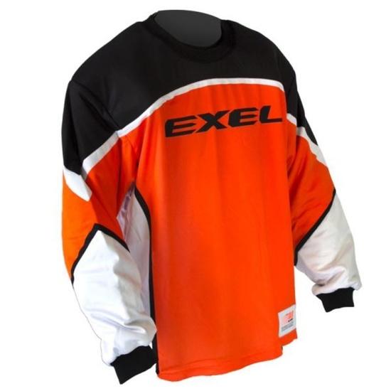 golmanský dres EXEL S60 GOALIE JERSEY senior orange / black