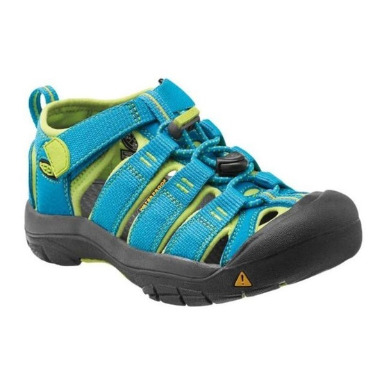 Sandále Keen Newport H2 Jr, hawaiian blue / green glow