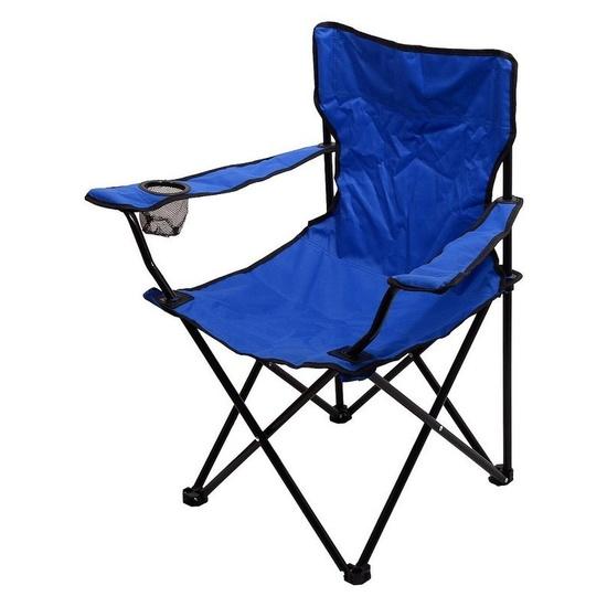 stolička kempingový skladacia Cattara BARI modrá