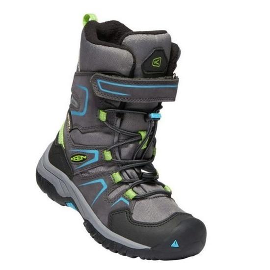 Detské topánky Keen Levo Winter WP C, magnet / blue jewel