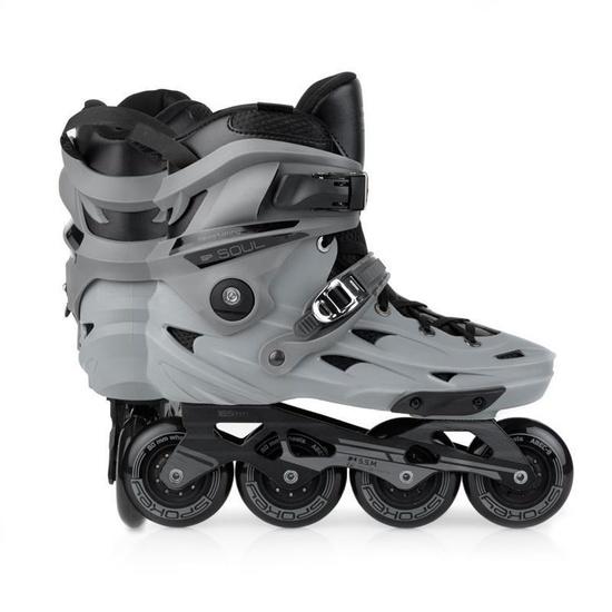 Kolieskové korčule Spokey SOUL ABEC 9, šedé
