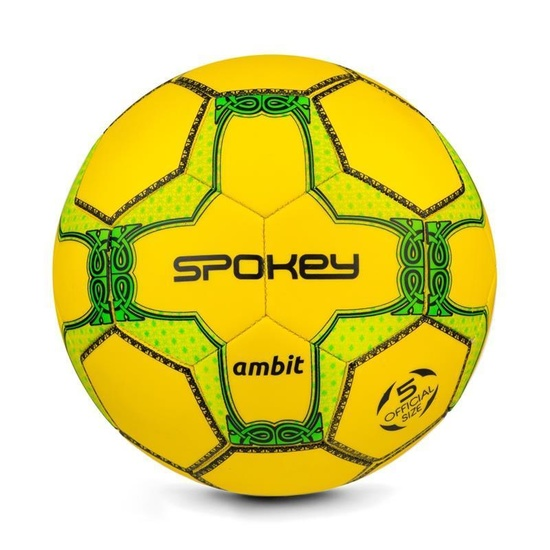 Spokey AMBIT futbalový lopta žlto-zelený veľ. 5