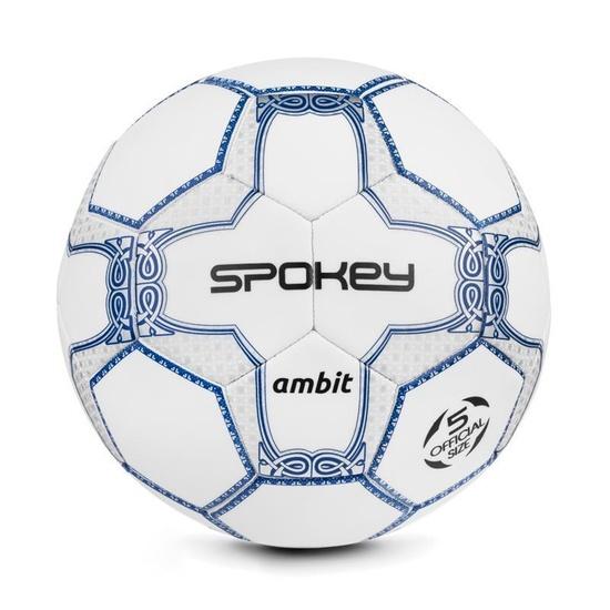 Spokey AMBIT futbalový lopta bielo-strieborný veľ. 5