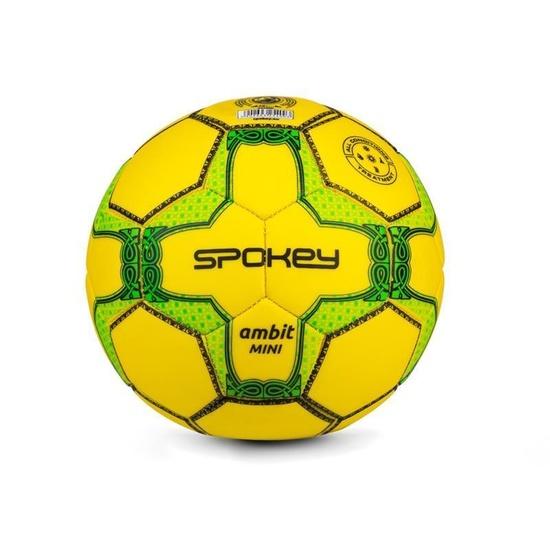 Spokey AMBIT MINI Futbalový lopta veľ. 2 žlto-zelený