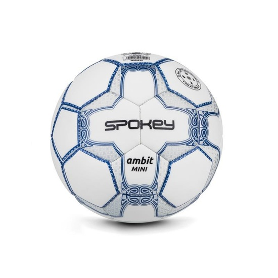 Spokey AMBIT MINI Futbalový lopta veľ. 2 bielo-strieborný