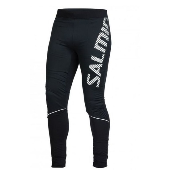Bežecké nohavice Salming Thermal Wind Tights Men Black