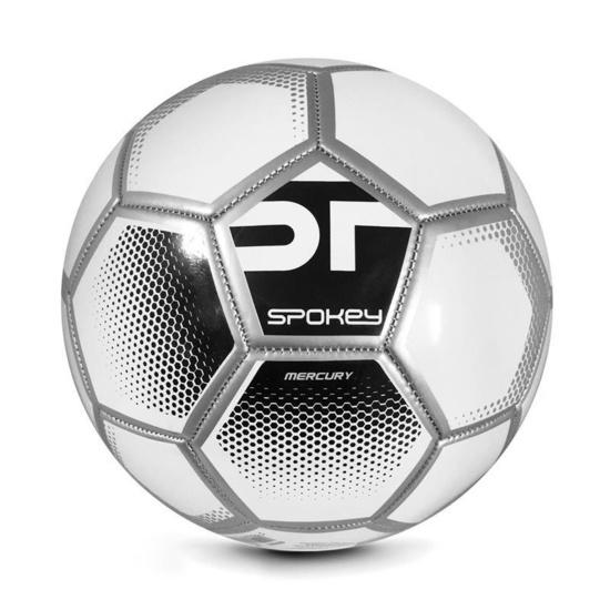 Spokey MERCURY Futbalový lopta veľ. 5 bielo-čierny