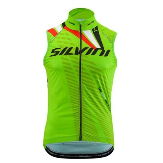 Pánska vesta Silvini TEAM MJ1404 green