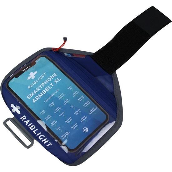Púzdro na mobil Raidlight smartphone Armbelt L Dark Blue