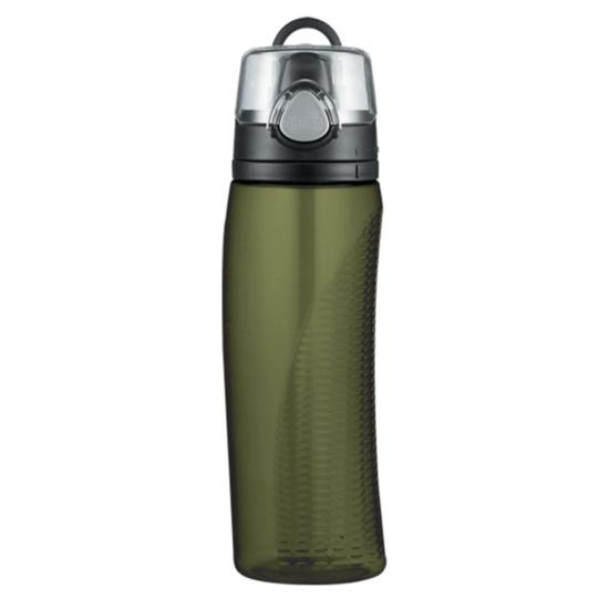 hydratačný fľaša s počítadlom Thermos Šport olivovo zelená 320010