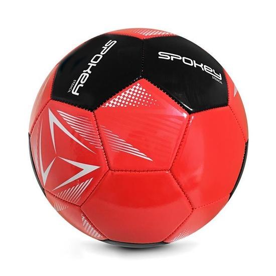 Spokey STENCIL Futbalový lopta veľ. 5 červeno-čierny