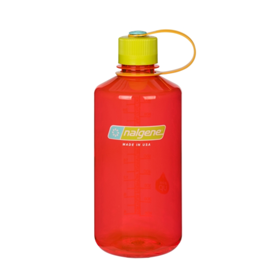 Fľaša Nalgene Narrow Mouth 1.0L pomegranate