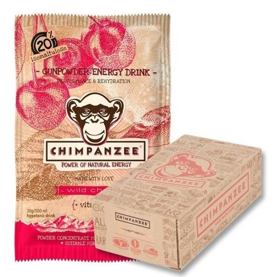 CHIMPANZEE BOX Gunpowder ENERGY drink Wild Cherry (30g) 20ks