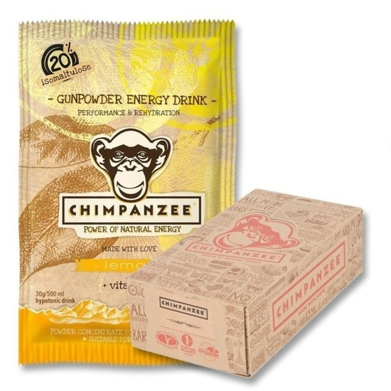 CHIMPANZEE BOX Gunpowder ENERGY drink Lemon (30g) 20ks