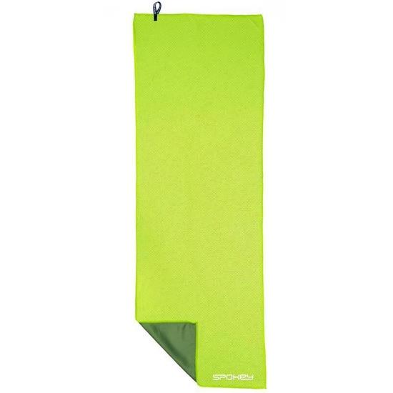 Chladiace rýchloschnúci uterák Spokey COOLER 31x84 cm, zelený