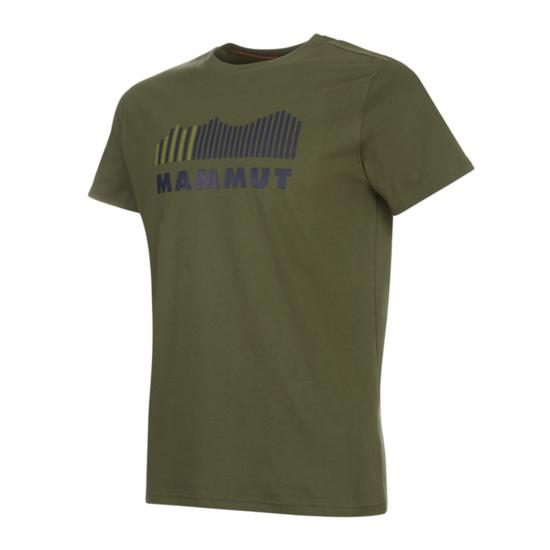 Pánske tričko Mammut Seile T-Shirt Men iguana PRT1 40094