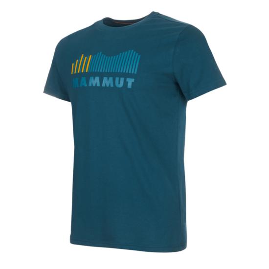 Pánske tričko Mammut Seile T-Shirt Men wing teal PRT1 50284