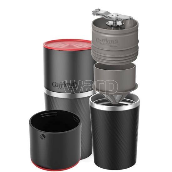 outdoorový kávovar Cafflano klassic black