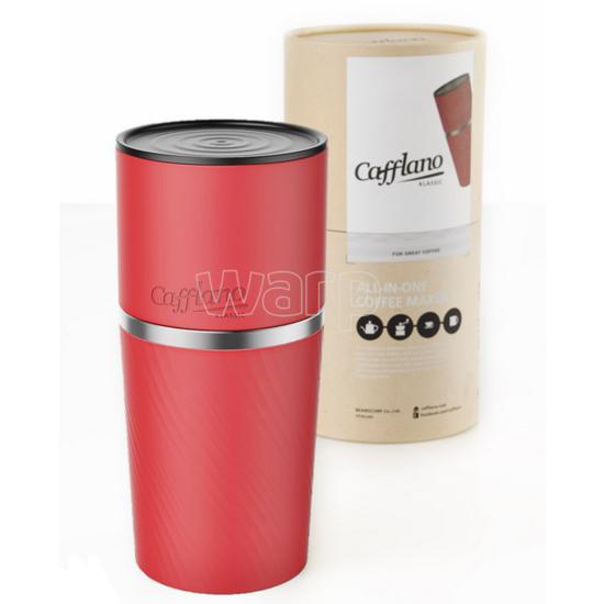 outdoorový kávovar Cafflano klassic red CAF0003