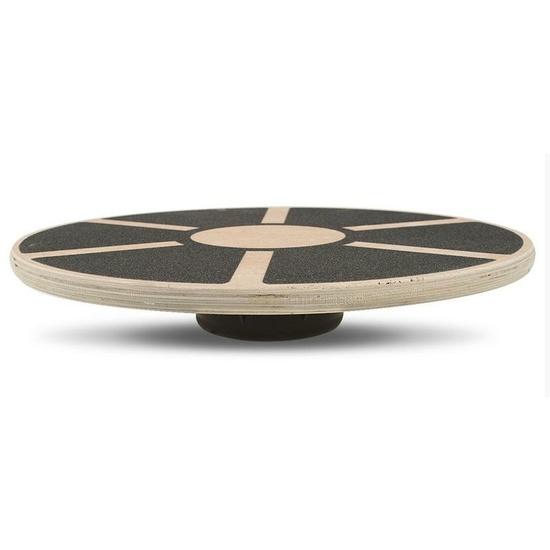 Balančná podložka Yate, drevená, kruhová