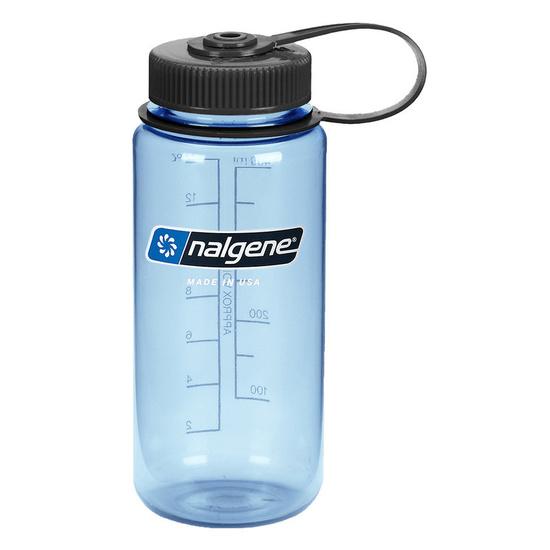 Fľaša Nalgene Wide Mouth 0,5l Tuxedo_Blue/682010-0421