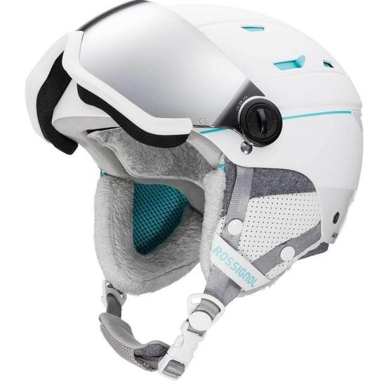 Lyžiarska helma Rossignol Allspeed Visor Impacts W RKIH401-000