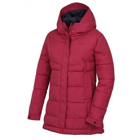 Dámsky hardshell plnený kabátik Husky Nilit L purpurová