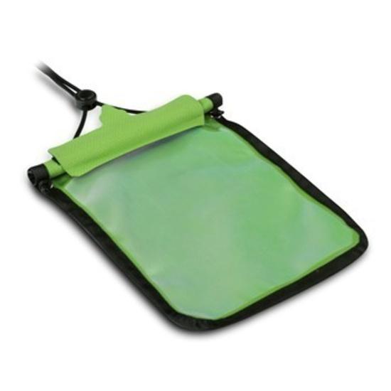 Vodotesné puzdro Trimm Passport farba : zelená
