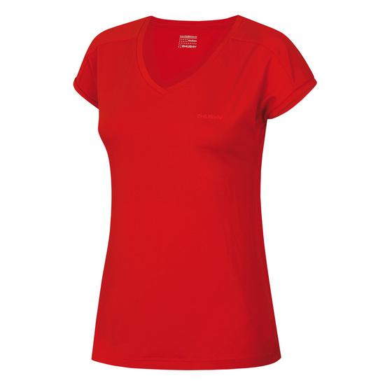 Dámske triko Husky Toni L červená