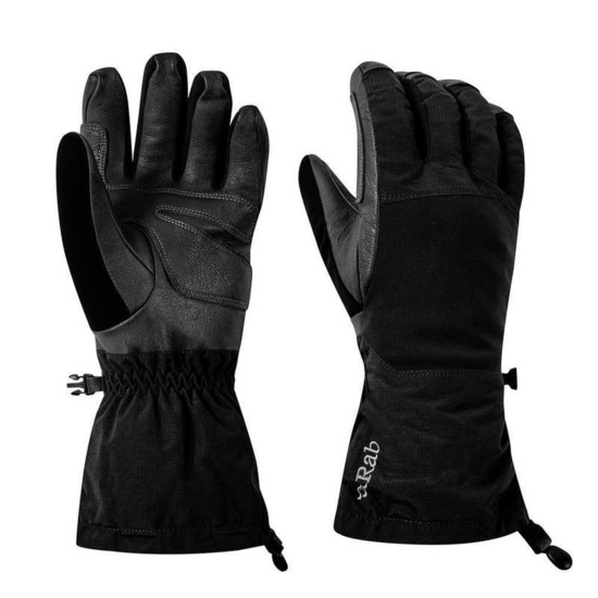 Rukavice Rab Blizzard Glove black / bl
