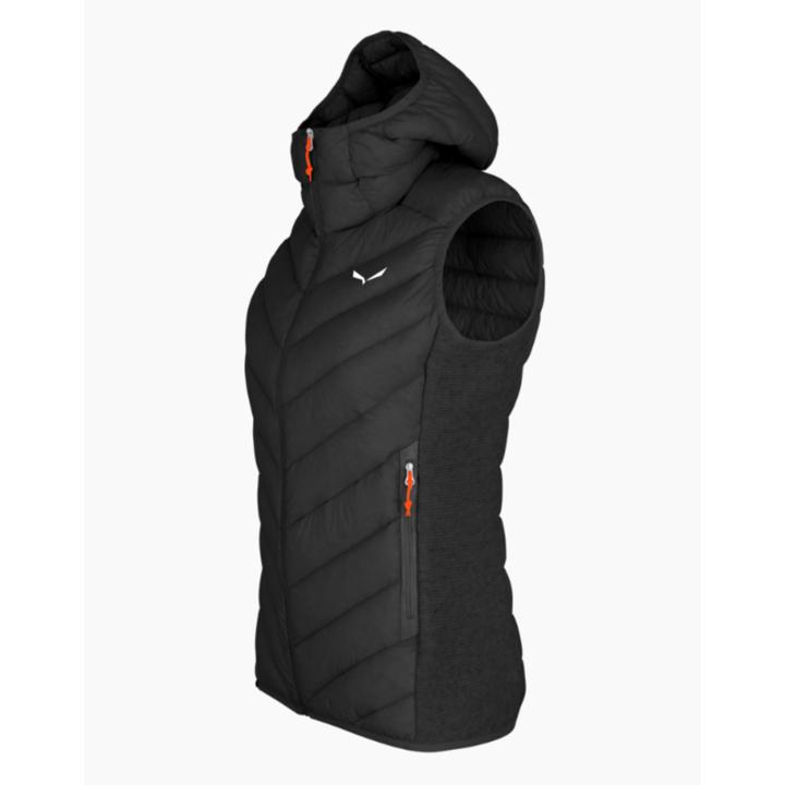 Dámska vesta Salewa Sarner / RDS Down W Hybrid Vest black out 28026-0910